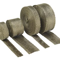 2 INX25FT EXHAUST WRAP-TITANIUM