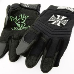 WCC RIDING GLOVE BLACK XL