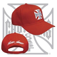 WCC ORIGINAL CROSS CAP RED
